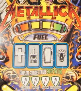 Stern Metallica CIU