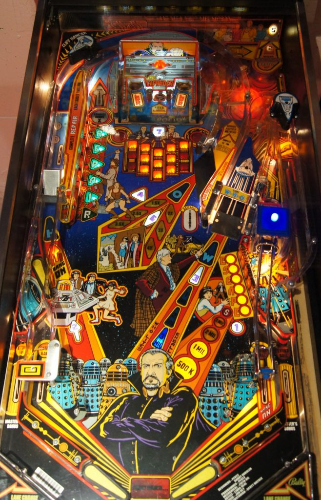 Bally Doctor WHO Playfield