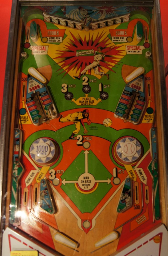 Gottlieb BIG HIT Playfield