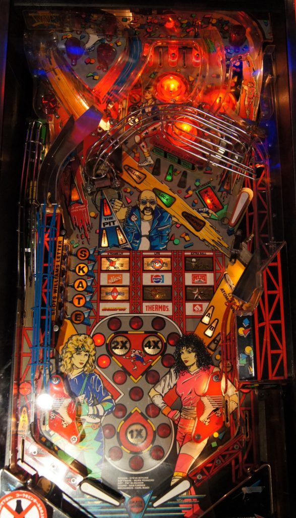 Williams Roller Games Playfield