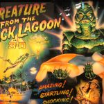 Bally Creature from The Black Lagoon Backglass