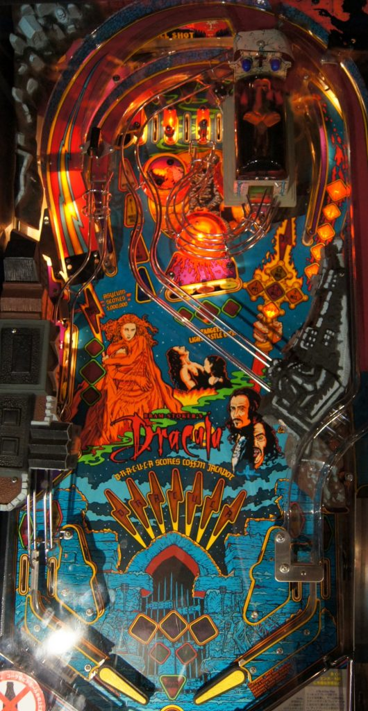 Williams Bram Stoker's Dracula Playfield