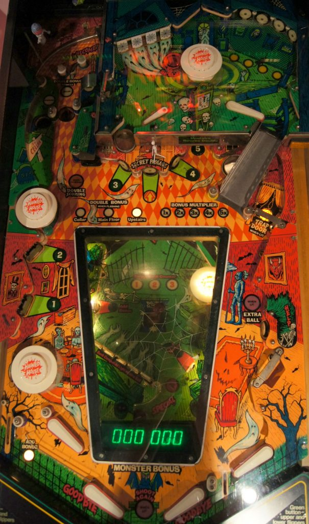 Gottlieb Haunted House Playfield