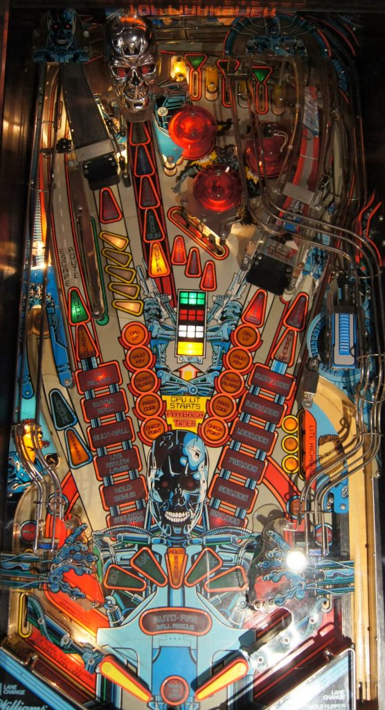 Williams TERMINATOR 2 Playfield