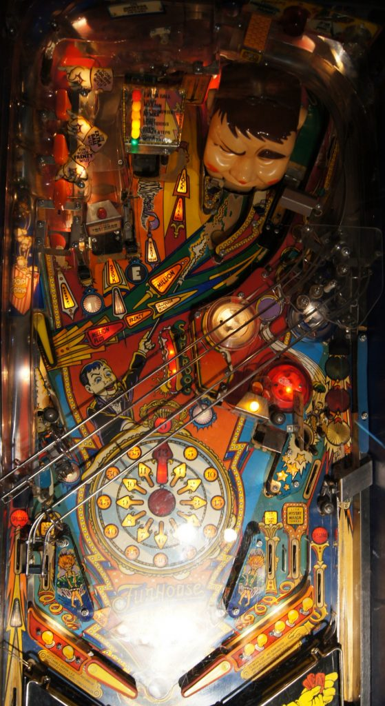 Williams Fun House Playfield