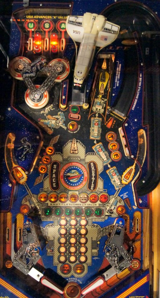 Williams Space Shuttle Playfield